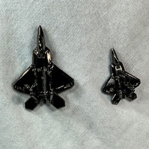 "Hill AFB F-22 ""Raptor"" Pin"