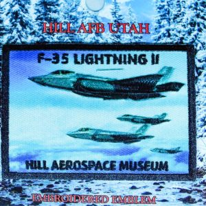 "Hill Aerospace Museum F-35 ""Lightning II"" Patch"