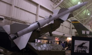 SA-2 Surface-to-Air Missile (SAM) on display at National Museum of the United States Air Force, Dayton, OH. (U.S. Air Force photo)